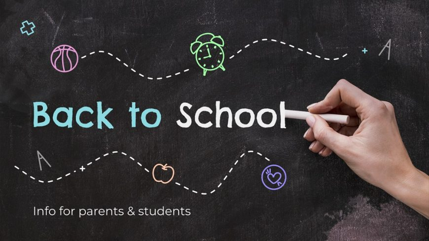 Back to School: Info for Parents & Students