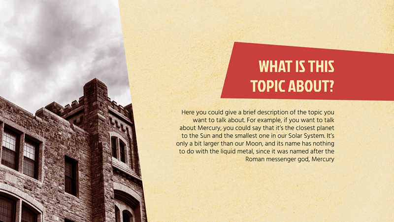 History Lesson Powerpoint Template