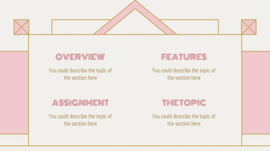 Art Deco Lesson Powerpoint Template