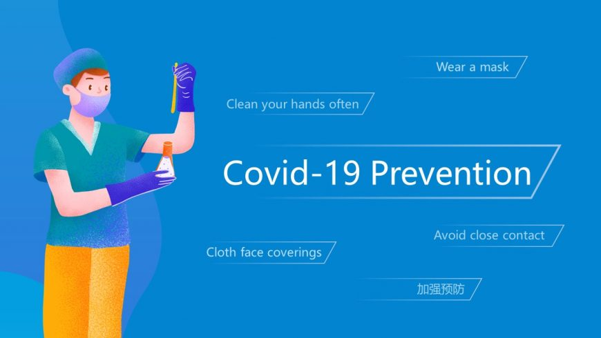 COVID-19 Prevention Powerpoint Template
