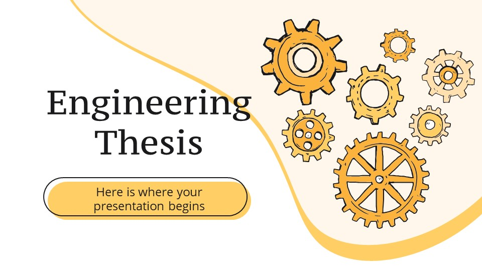 Engineering Thesis Defense Powerpoint Template