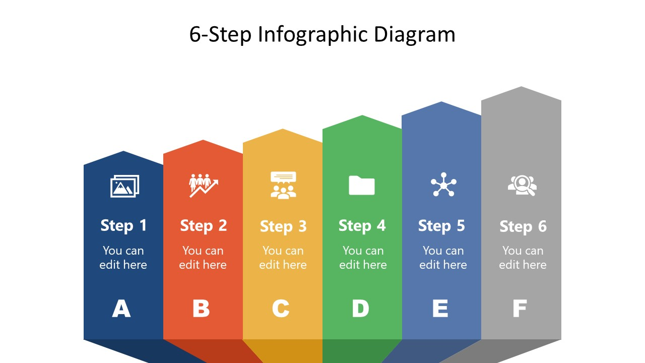 6 Steps Infographic Template