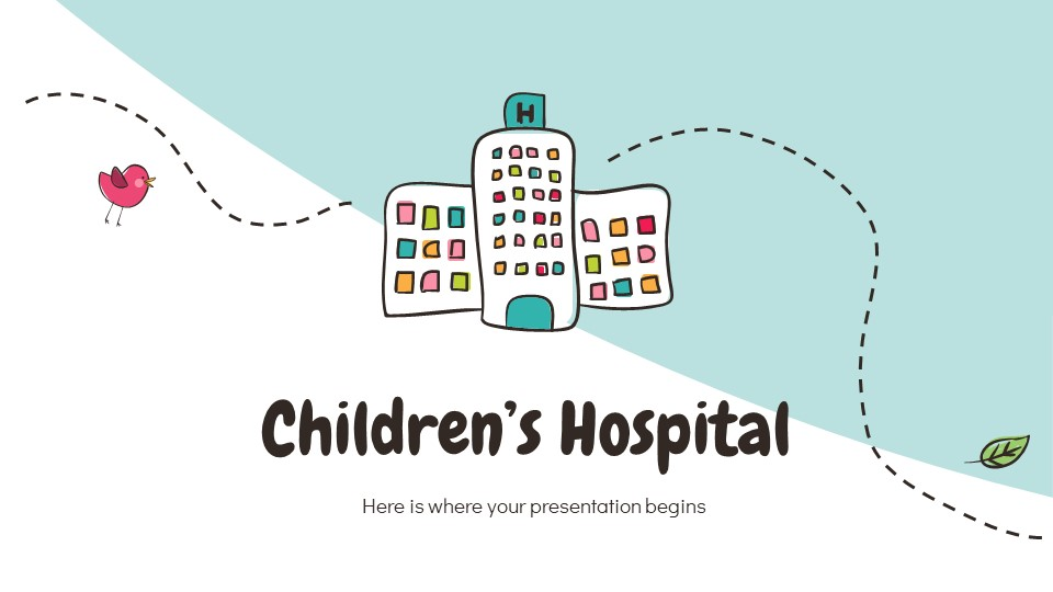 Children's Hospital Powerpoint Template
