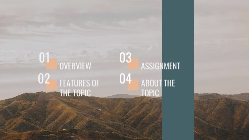 Geography Lesson PowerPoint Template