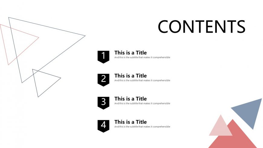 Geometric Business Meeting PowerPoint Template