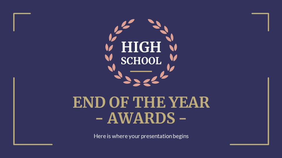 High School End Of Year Awards1