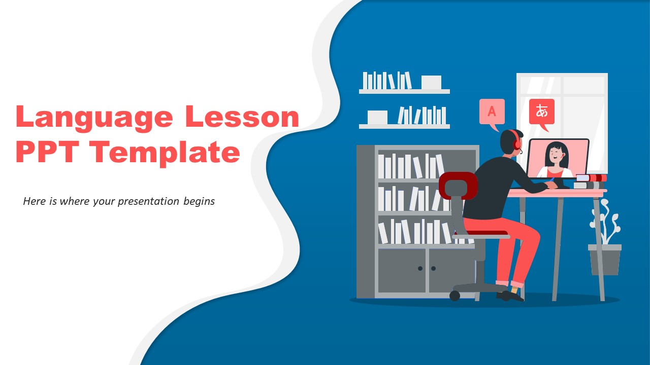 Language Lesson PowerPoint Template1