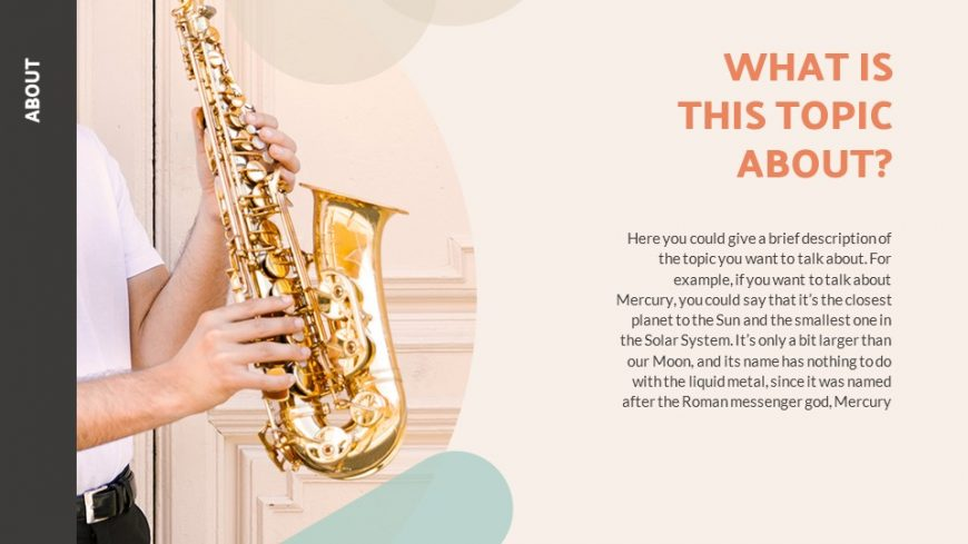 Music Lesson PowerPoint Template