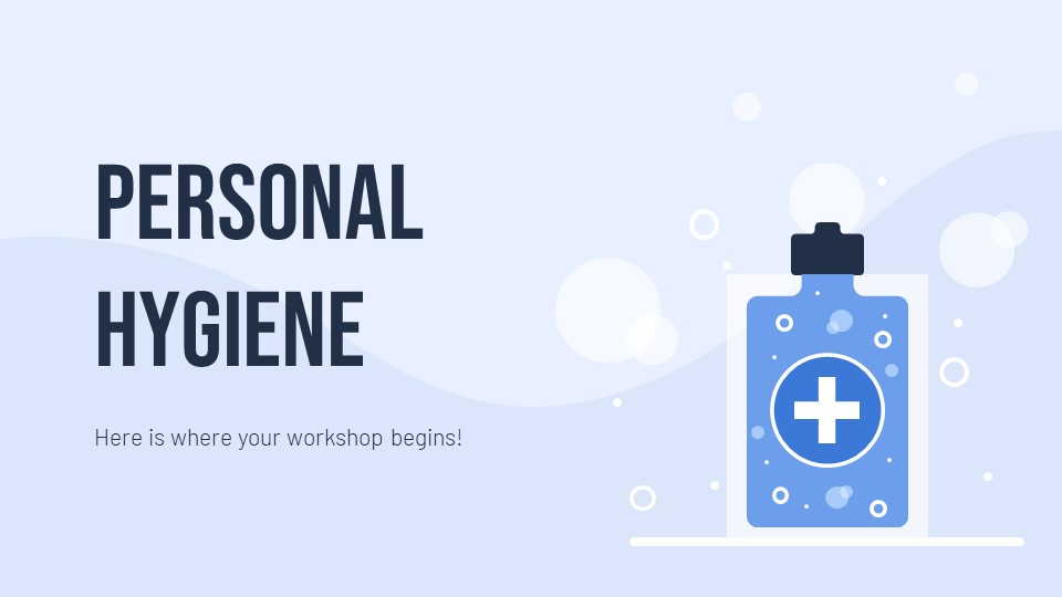 Personal Hygiene PowerPoint Template1
