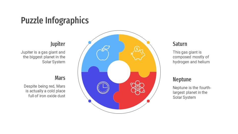 Puzzle Infographics Templates2