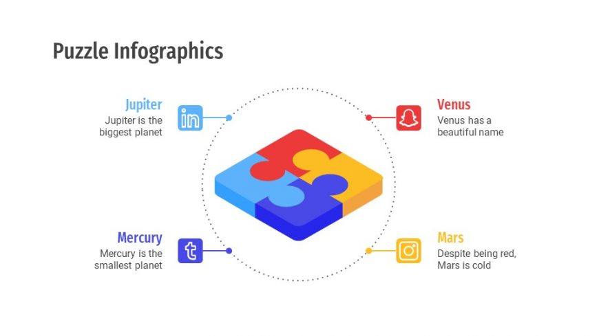 Puzzle Infographics Templates