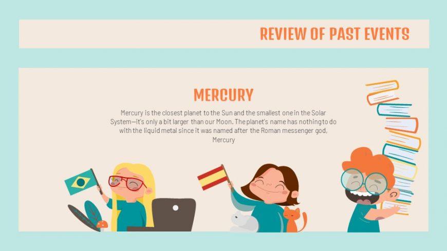 School Newsletter PowerPoint Template