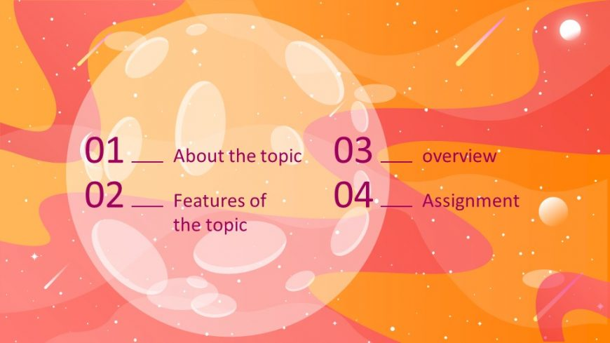 Science Lesson PowerPoint Template