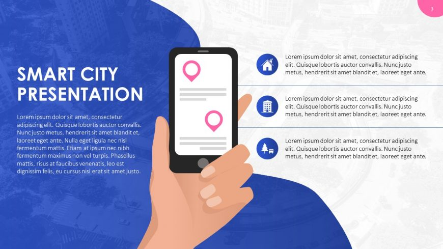 Smart City PowerPoint Template