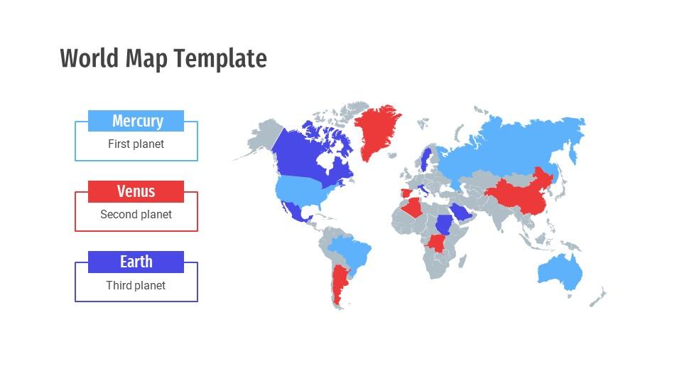 World Map Templates17