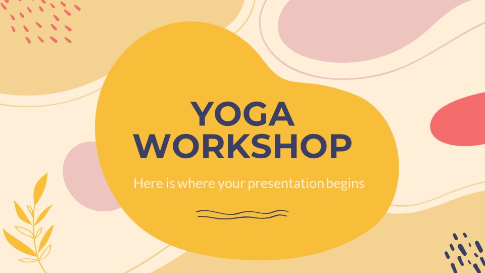 Yoga Workshop PowerPoint Template
