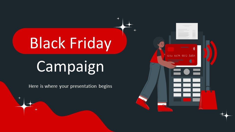 Black Friday Campaign PowerPoint Template