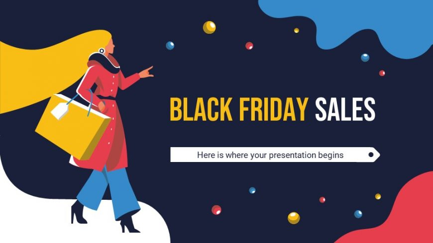 Black Friday Sales PowerPoint Template