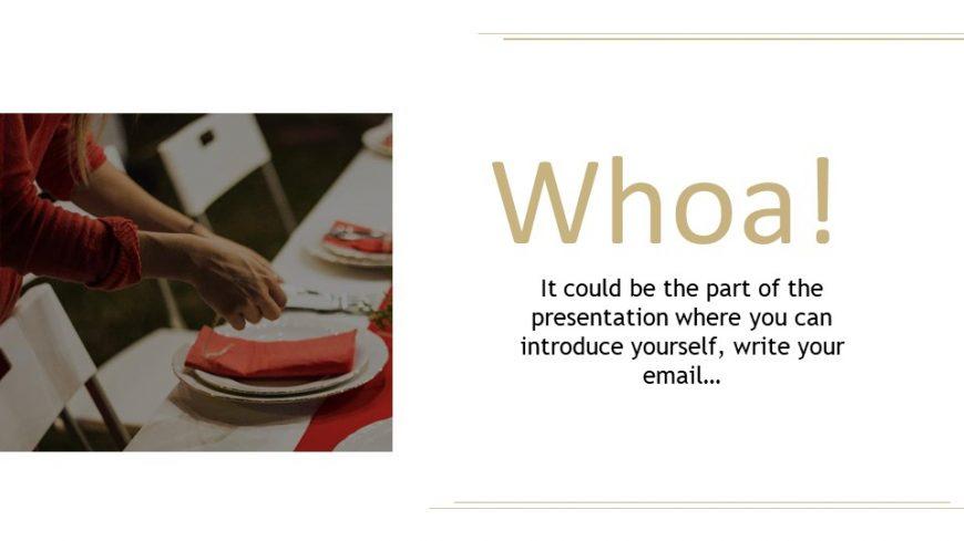 Thanksgiving Dinner PowerPoint Template