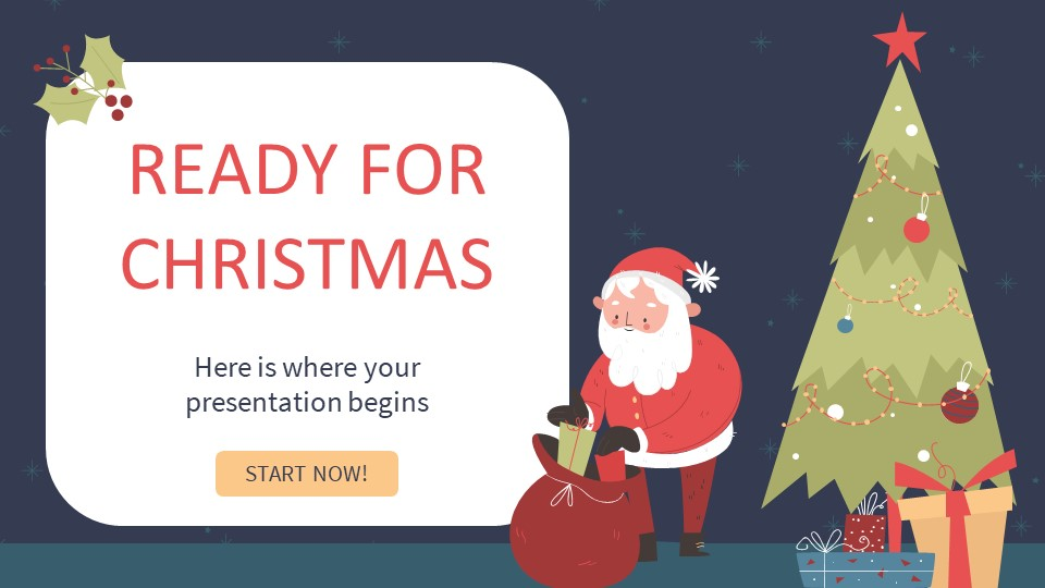 Ready for Christmas PowerPoint Template