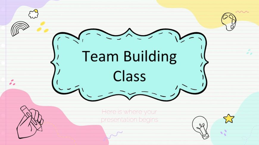Team Building Class for Elementary1